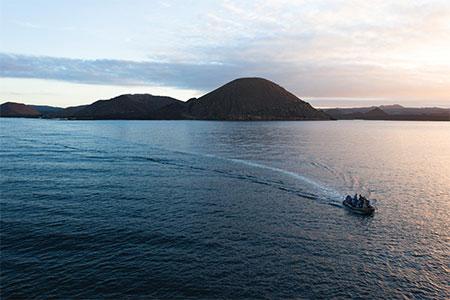 Silversea Luxury Galapagos Cruises - Sullivan Bay, photo credit Silversea